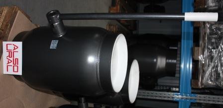 Кран шаровый приварной КШ.П.250.25-01 Ду250 Ру25