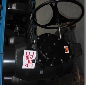 Кран шаровой приварной КШ.П.400.16-01 Ду400 Ру16